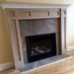 Valor H5, FW  mantel and tile, wood to gas swap