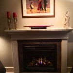 AFTER Repaired tile and mantel, new gas GD36 fireplace
