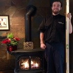 "Connor with Vermont Castings ""Radiance'' gas stove"