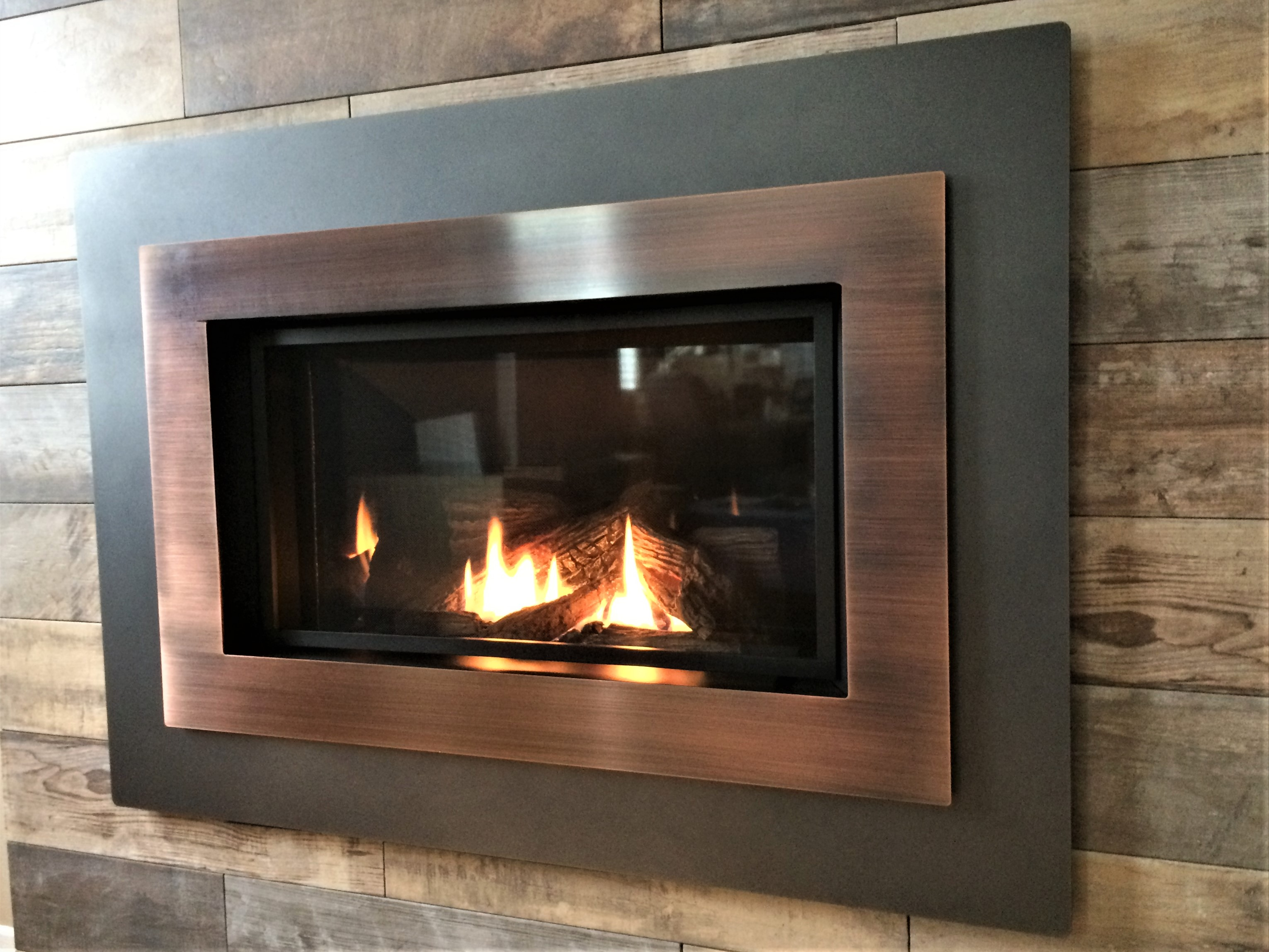 custom insert valor fire stone tiled masonry fireplace legend pin installed corner with radiant inserts finish ledge in and gas